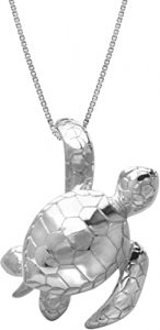Hanging Turtle Necklace